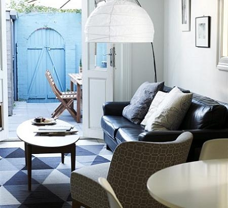 M s de 100 salones peque os modernos y confortables para for Salones muy pequenos
