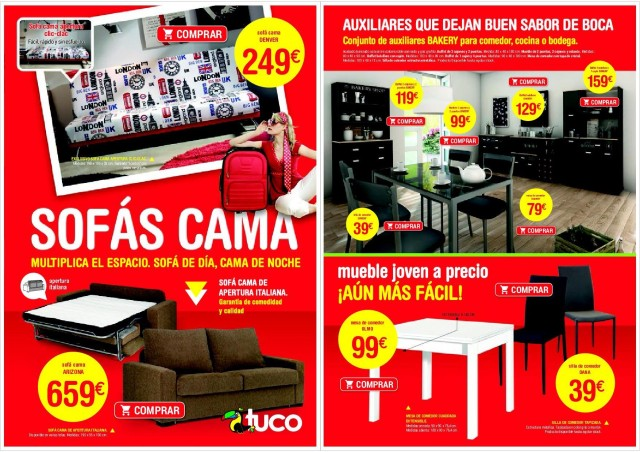 Cat logo muebles tuco abril 2016 - Tuco zaragoza catalogo ...