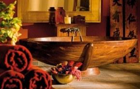 Bañeras fabricadas totalmente en madera