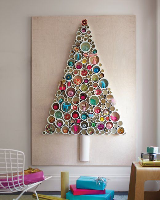Tree-of-christmas-recycled-with-pipes-pvc