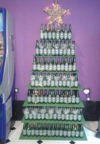 Tree-of-christmas-recycled-made-with-glass-bottles