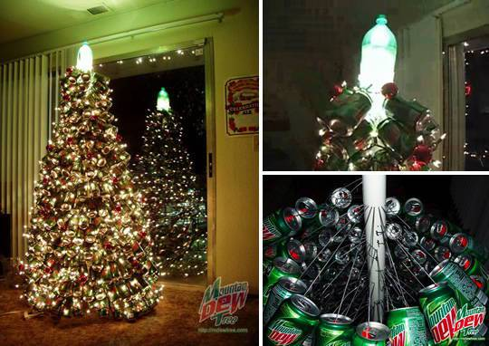 Tree-of-christmas-recycled-made-with-cans