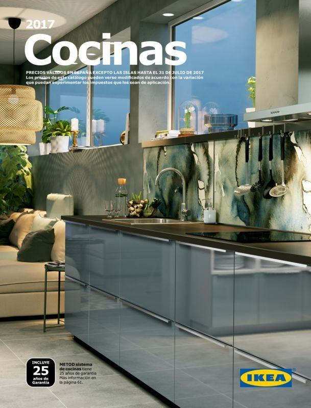 Cat logo cocinas ikea julio 2017 for Catalogo cocinas