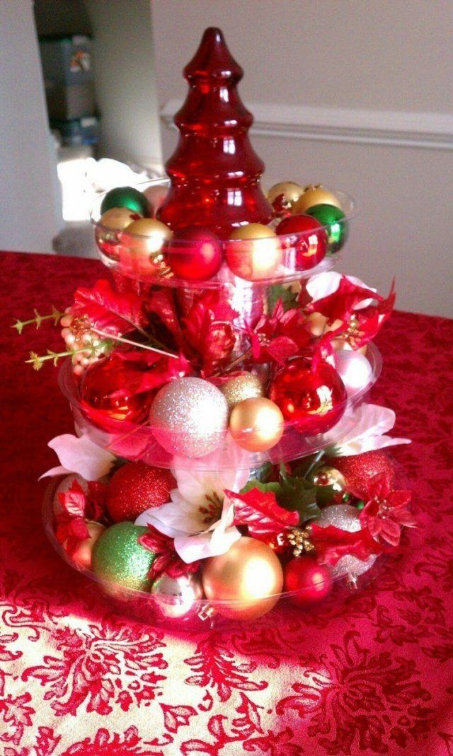 Table-christmas-decorations-tree-ornament