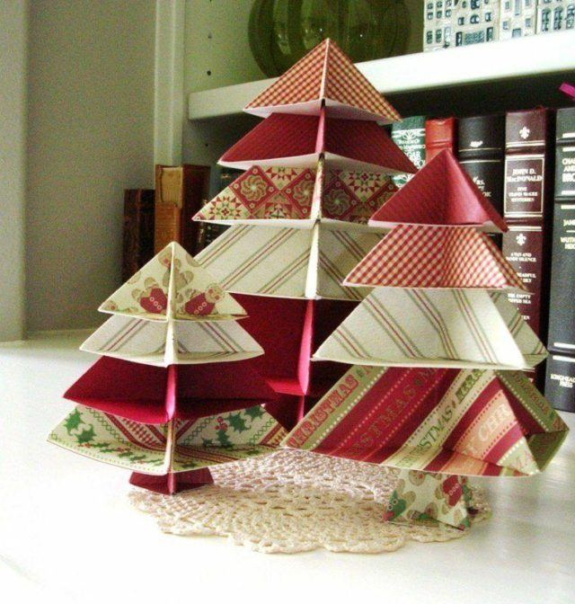 Table-Christmas-tree-paper-centers
