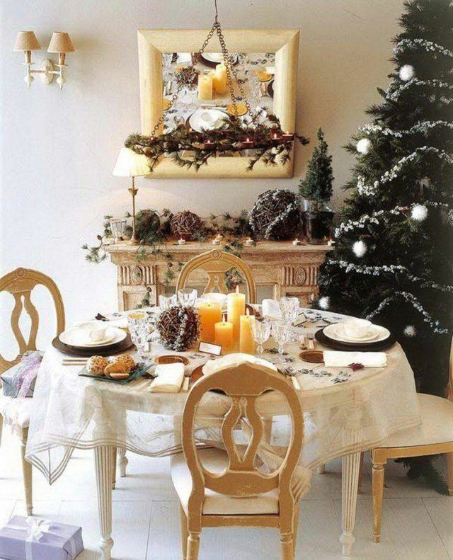 Table-Christmas-center-with-many-candles