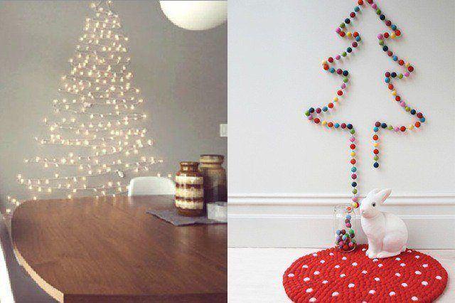 Luces de navidad en tu hogar luces exteriores y led - Arbol de navidad hecho de luces ...