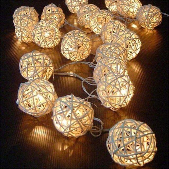 Luces de navidad en tu hogar luces exteriores y led - Luces arbol de navidad ...