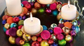 Corona de adviento 2017 | Corona de Navidad paso a paso
