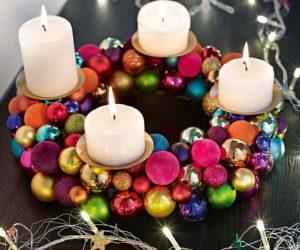 Corona de adviento 2016 | Corona de Navidad paso a paso