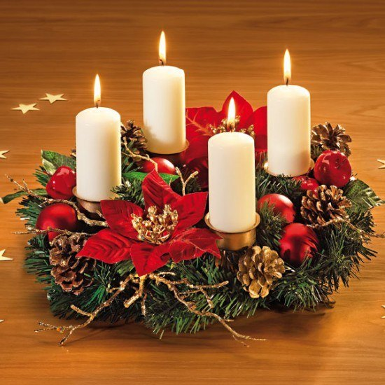 Advent wreath-origin-with-candles