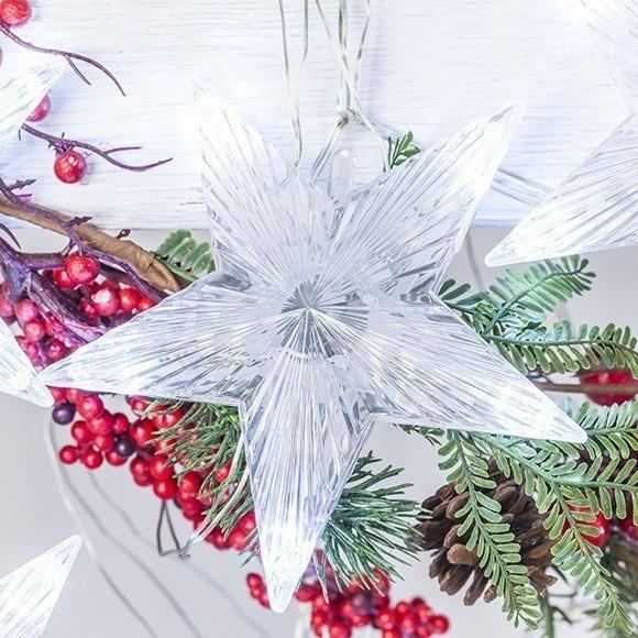 Estrellas de navidad for Luces de navidad leroy merlin