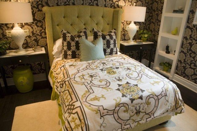 cabeceros-de-cama-originales-cabecero-de-color-verde-oliva