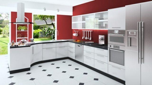 cocinas-rojas-pared