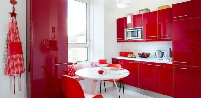 Mas De 25 Fotos Con Ideas De Cocinas Rojas Espaciohogarcom - Cocinas-en-rojo