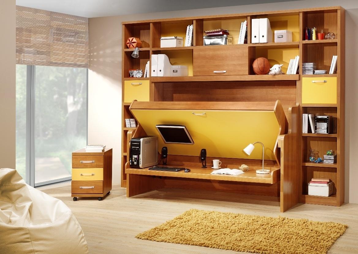 Escritorios juveniles muebles transformables for Muebles escritorios juveniles