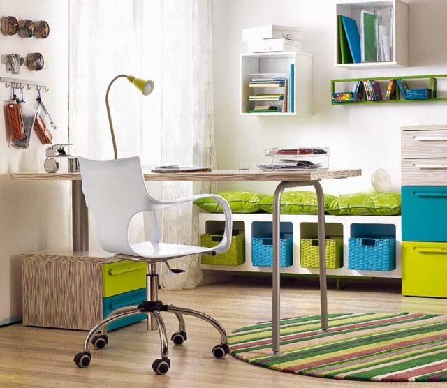escritorios-juveniles-que-modelo-elegir-verde