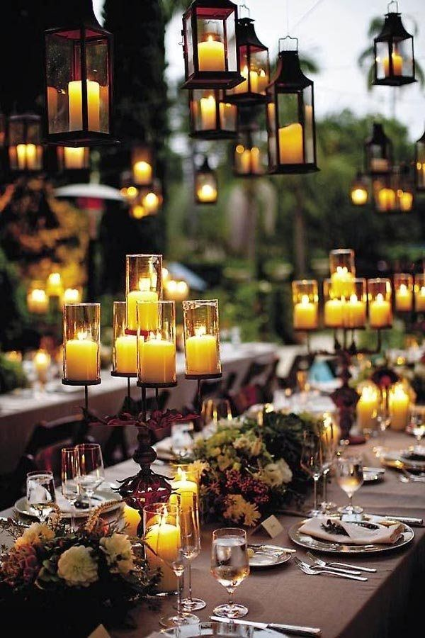 Table-centers-with-candles-candlestick