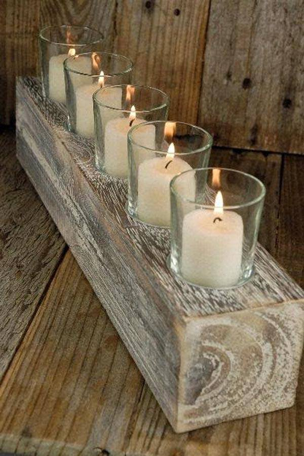 Center-table-with-candles-wood