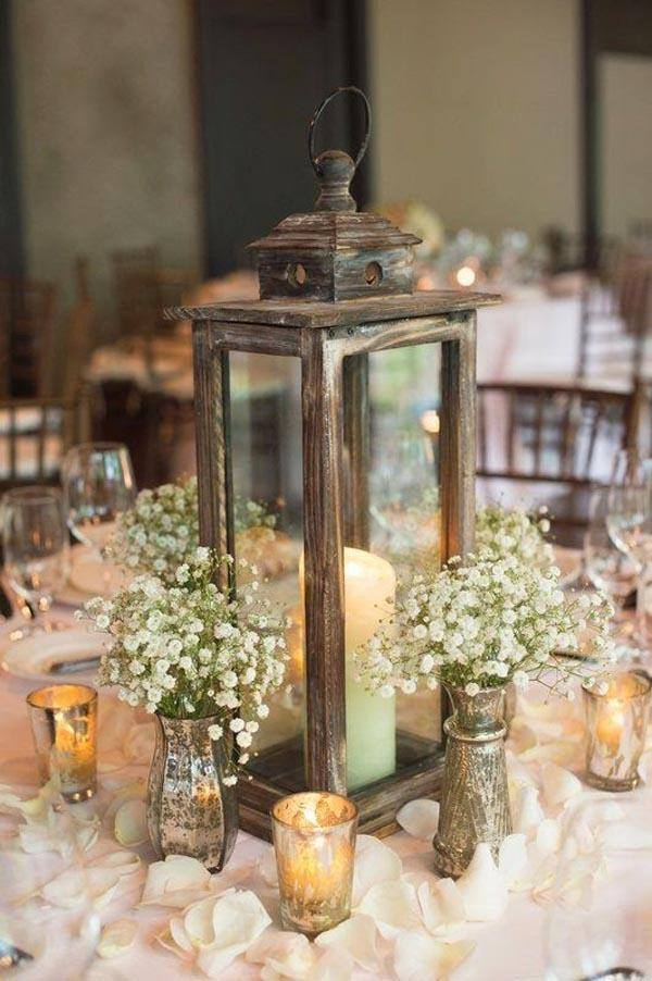 Table-for-wedding-rustic-lamps