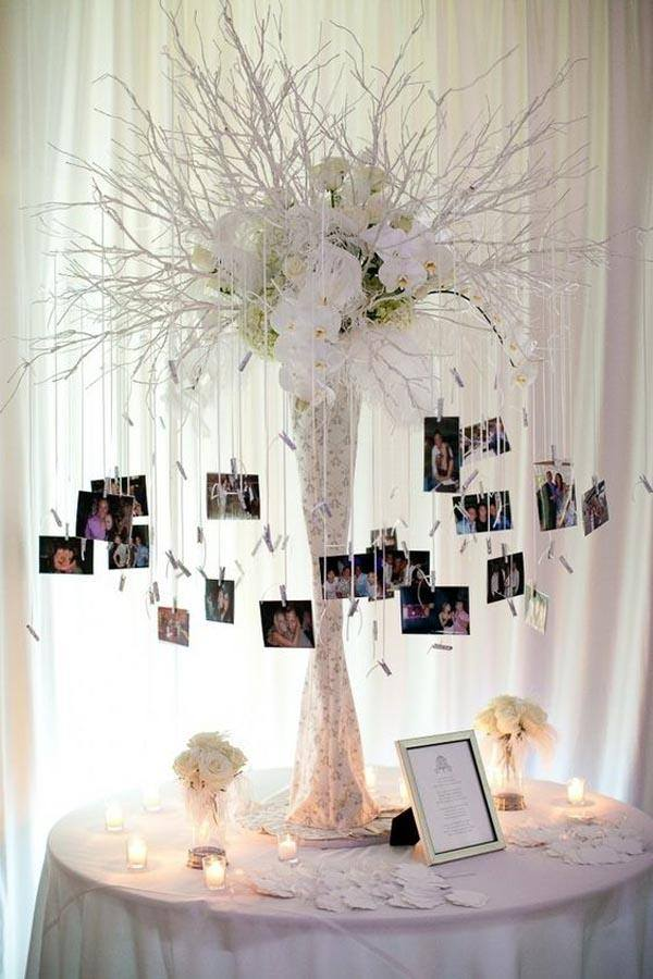 Center-of-table-for-fifteen-years-tree-photos