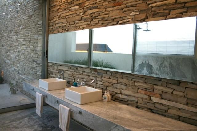 50-fotos-con-ideas-de-decoracion-para-baños-rusticos-2016-baños-dos-pilas-modernas-espejos
