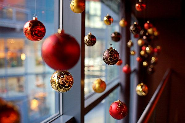 Christmas decoration-office-window