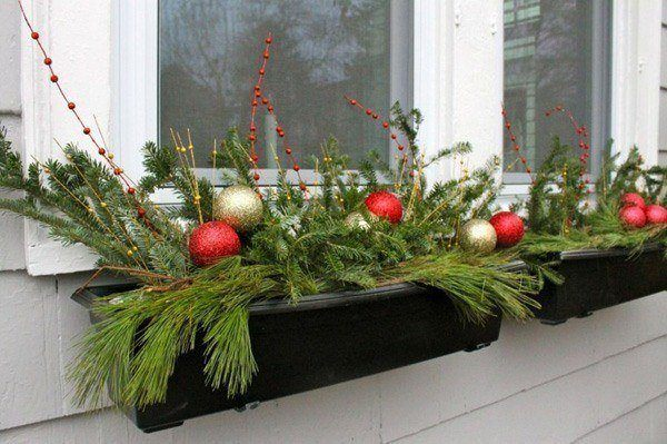 Decoration-christmas-for-windows-outdoor