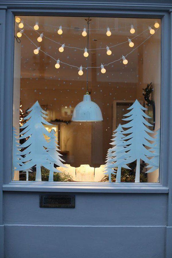 Manualidades Para Decorar Ventanas En Navidad