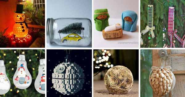 Christmas decoration-recycling