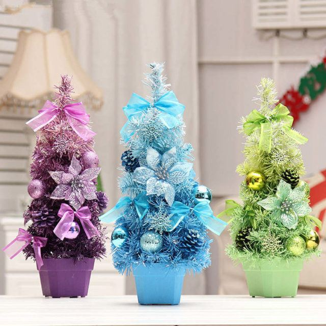 Christmas trees-artificial-small