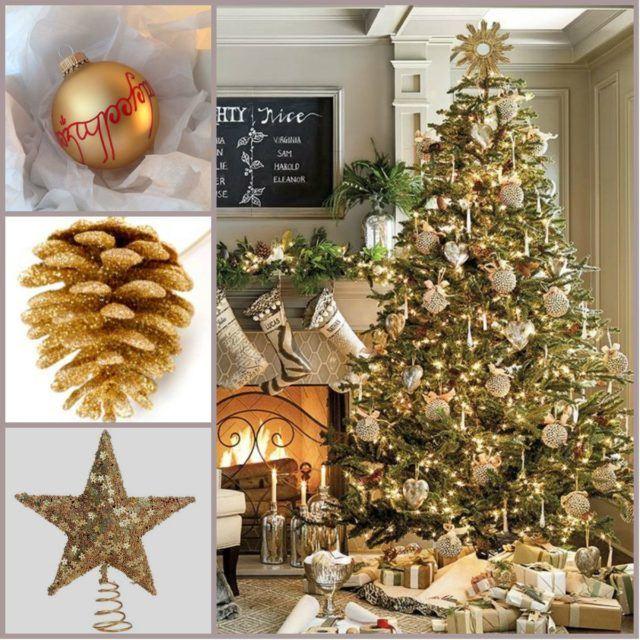 Christmas trees-elegant