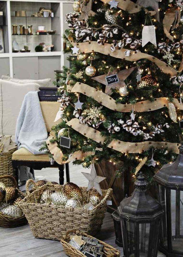 De 300 fotos de arboles de navidad 2016 decorados y for Adornos arbol navidad online