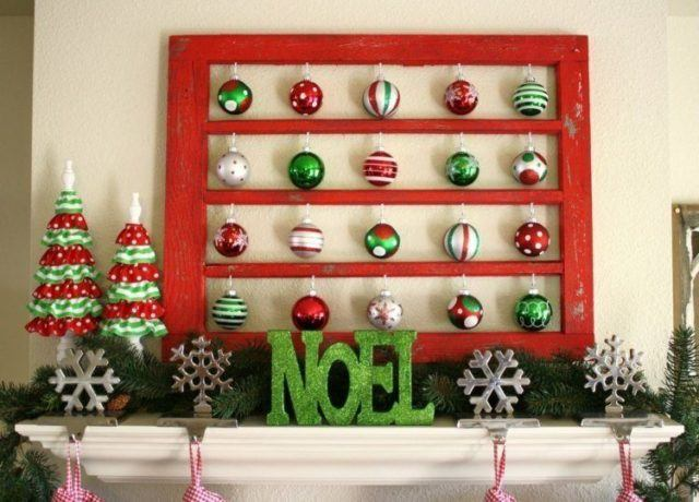 baubles with letters