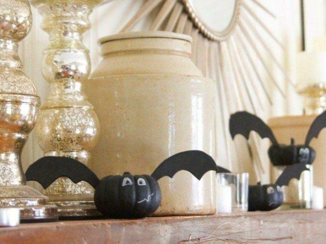 calabazas-decoradas-especialmente-murcielagos