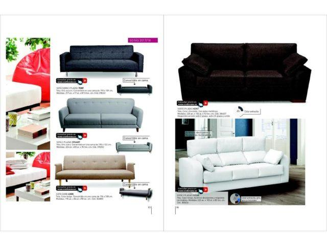 Sofa 2 plazas conforama amazing conforama poster with - Conforama catalogo sofas ...