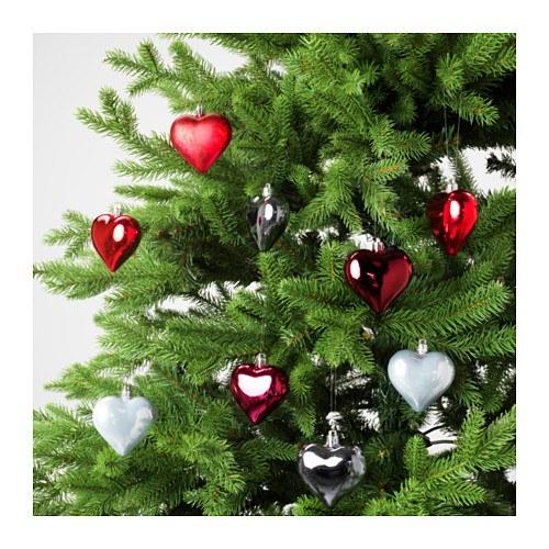 catalogo-ikea-navidad-2016-adornos-arbol-corazones-rojo-plata
