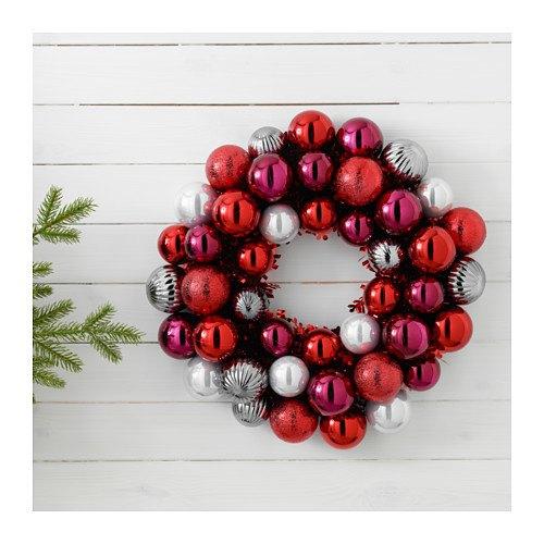 catalogo-ikea-navidad-2016-adornos-puerta-bolas-rojo-plata