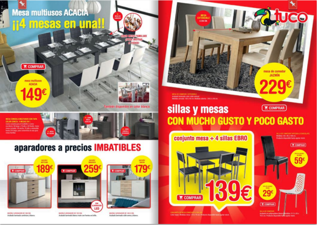 Cat logo muebles tuco abril 2016 for Catalogo de muebles de cocina pdf