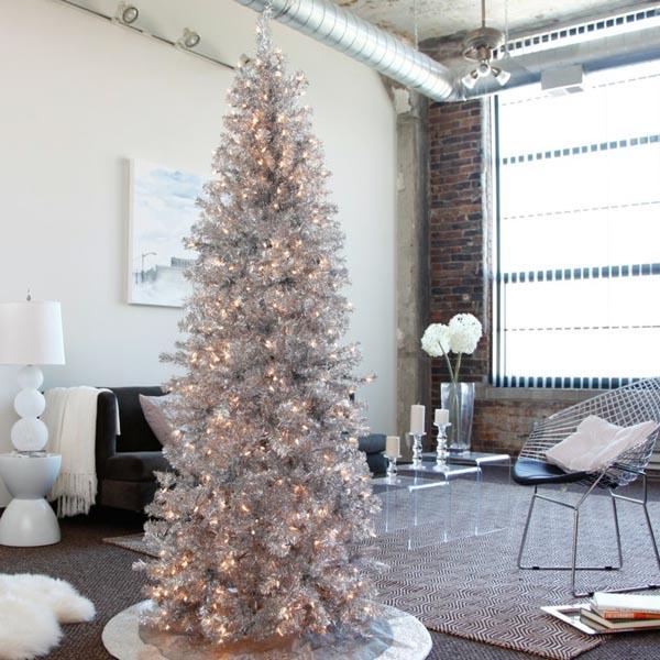 decoracion-de-arboles-de-navidad-artificial-plata