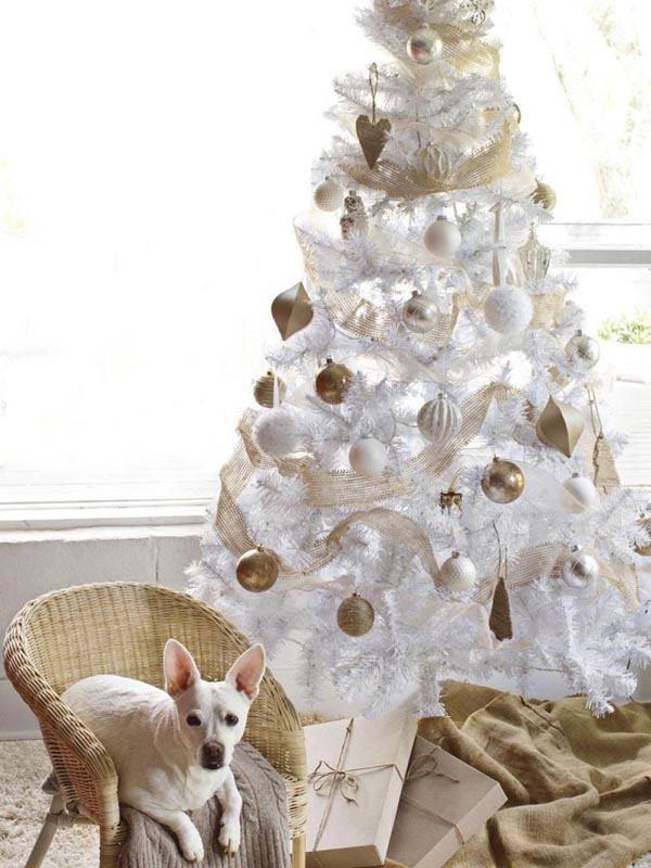 decoracion-de-arboles-de-navidad-beige