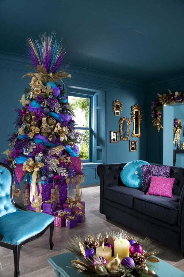 Christmas tree decorations-colors