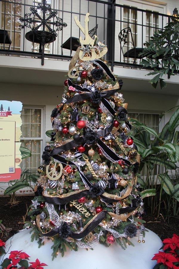 decoracion-de-arboles-de-navidad-guirnalda-negra