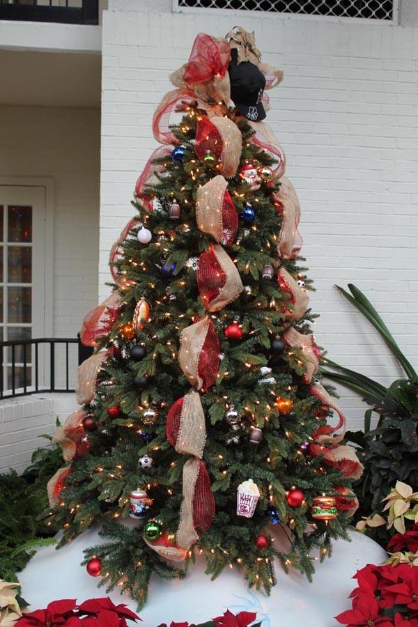 De 150 fotos de decoraci n de rboles de navidad modernos for Decoraciones para arbol de navidad 2016