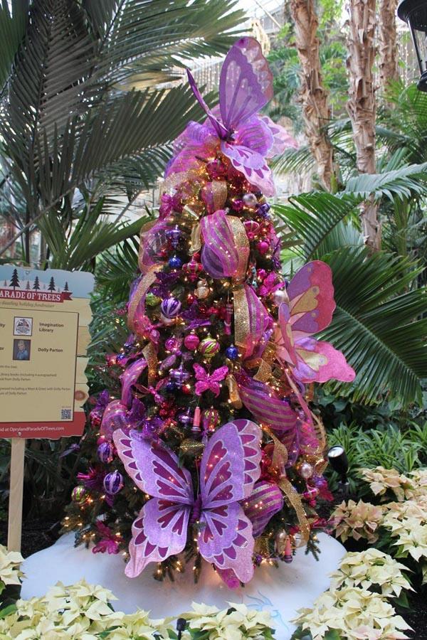 De 150 fotos de decoraci n de rboles de navidad modernos - Arbol de navidad morado ...