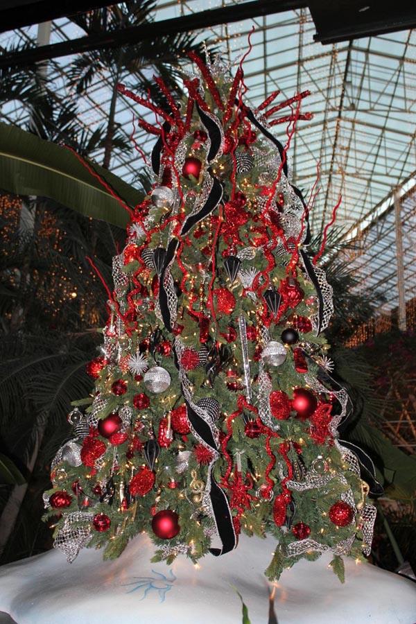 decoracion-de-arboles-de-navidad-rojo-negro