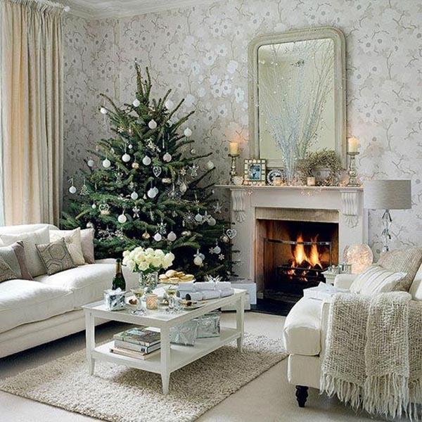 decoracion-de-arboles-de-navidad-salon-blanco