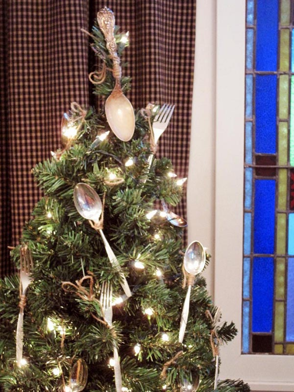Christmas-tree-fork decoration