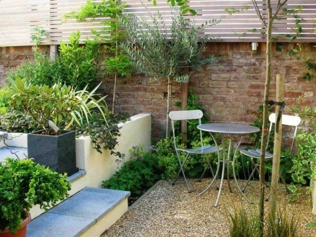 De 100 fotos con ideas de decoraci n de jardines - Como decorar patios pequenos ...