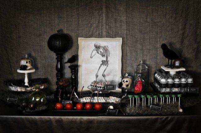 decoracion-halloween-adornos-negros-fiesta-hallloween